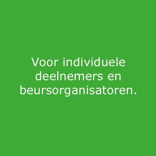 Individuele deelnemers beursorganisatoren