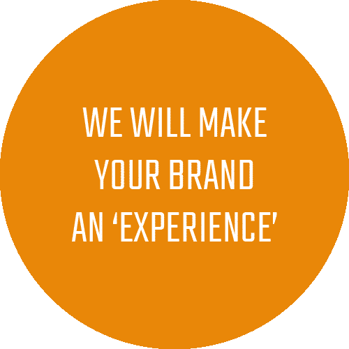 We will make your brand an experiece