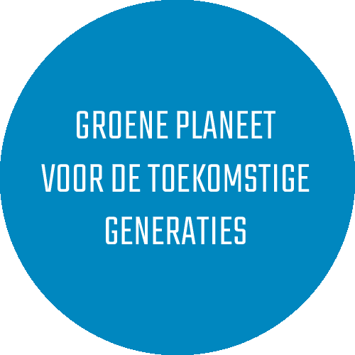 groene planeet voor de toekomstige generaties